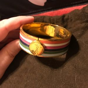 Coach Legacy Stripe Bracelet/Bangle
